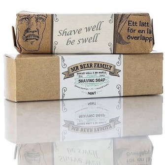 Mr Bear Family Shaving Soap Mint