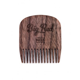 Big Red Beard Comb No.5 - Walnut