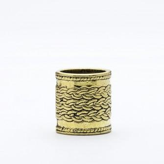 Dwarvendom Beard Bead - Oakenshield Gold
