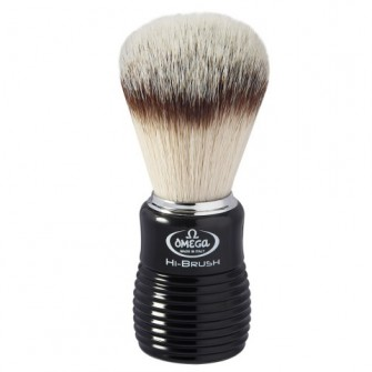 Omega Hi-Brush Fiber Shaving Brush