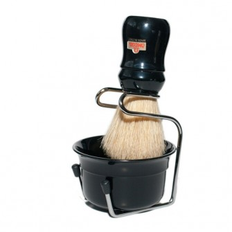 Omega Shaving Set Black