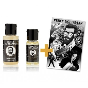 Percy Nobleman Beard Starter Kit + Comic Book