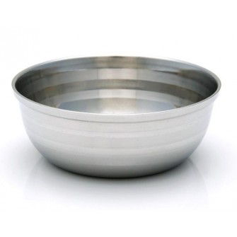 Pearl Metallic Shaving Bowl
