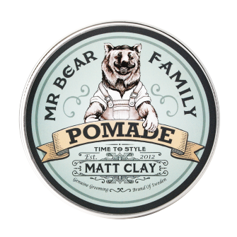 Mr Bear Family Pomade Matt Clay