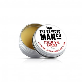 The Bearded Man Company Moustache Wax Raceday