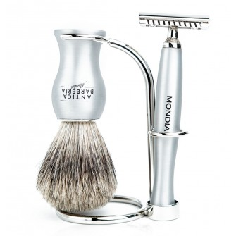 Mondial Titan Shaving Set Safety Razor