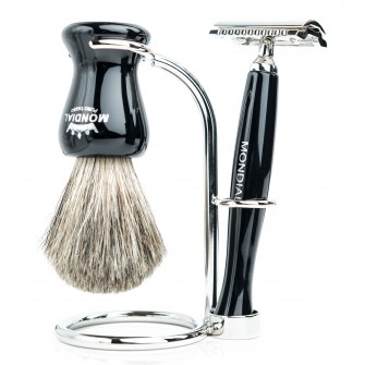Mondial Panther Shaving Set Safety Razor