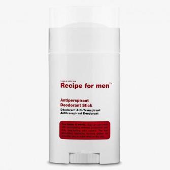 Recipe for men Antiperspirant Deodorant Stick