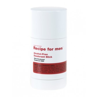 Recipe for Men Alcohol-Free Deodorant Stick