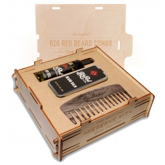 Big Red Beard Combs The Reserve Kit