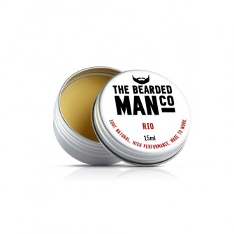 The Bearded Man Company Moustache Wax Rio