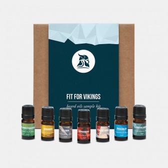 Fit for Vikings Beard Oil Sample Kit
