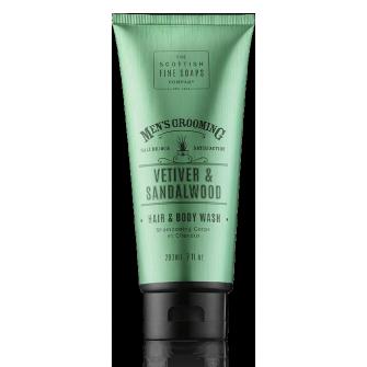 The Scottish Fine Soaps Vetiver & Sandalwood Hair & Body Wash