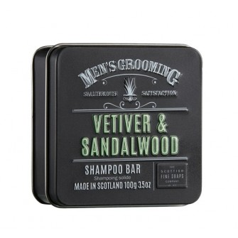 The Scottish Fine Soaps Vetiver & Sandalwood Shampoo Bar