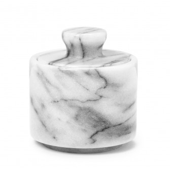 Shaving Soap Bowl White Marble