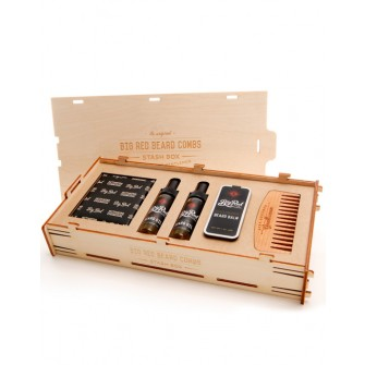Big Red Beard Combs Stash Kit 1