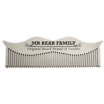 Mr Bear Family Steel Comb
