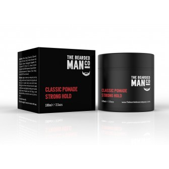 The Bearded Man Company Classic Pomade Strong Hold