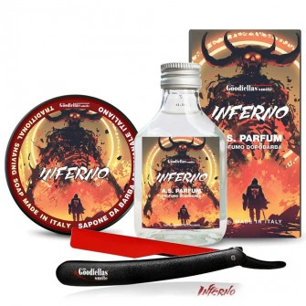 The Goodfellas' Smile Inferno Shaving Kit with Razor