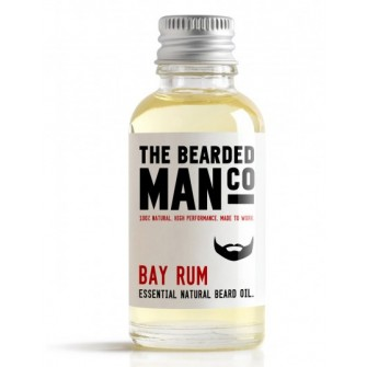 The Bearded Man Company Beard Oil Bay Rum 30 ml