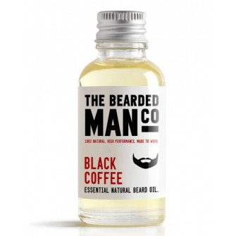 The Bearded Man Company Beard Oil Coffee 30 ml