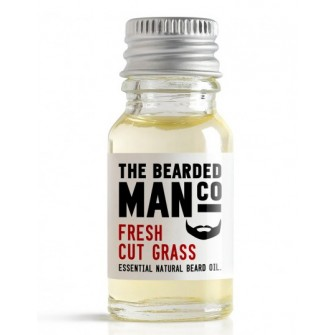The Bearded Man Company Beard Oil Fresh Cut Grass 10 ml