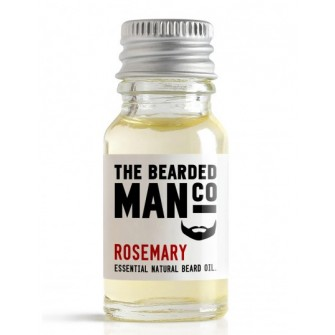 The Bearded Man Company Beard Oil Rosemary 10 ml