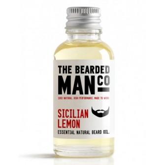 The Bearded Man Company Beard Oil Sicilian Lemon 30 ml