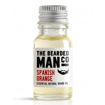 The Bearded Man Company Beard Oil Spanish Orange 10 ml