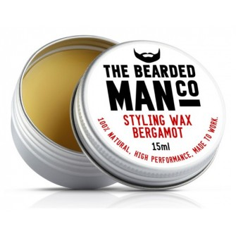 The Bearded Man Company Moustache Wax Bergamot