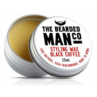 The Bearded Man Company Moustache Wax Black Coffee