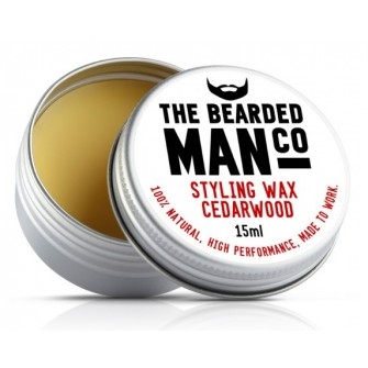 The Bearded Man Company Moustache Wax Cedarwood
