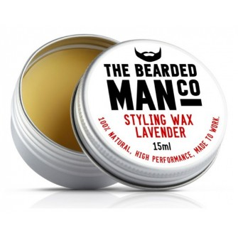 The Bearded Man Company Moustache Wax Lavender
