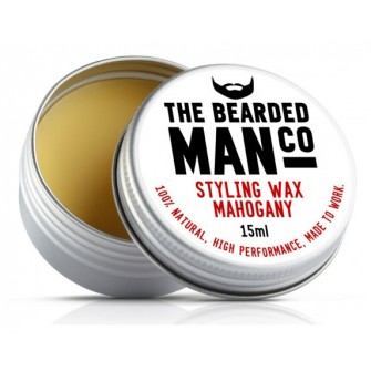 The Bearded Man Company Moustache Wax Mahogny