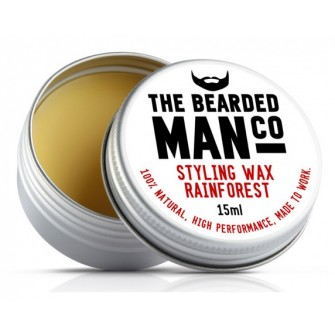 The Bearded Man Company Moustache Wax Rain Forrest