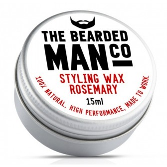 The Bearded Man Company Moustache Wax Rosemary