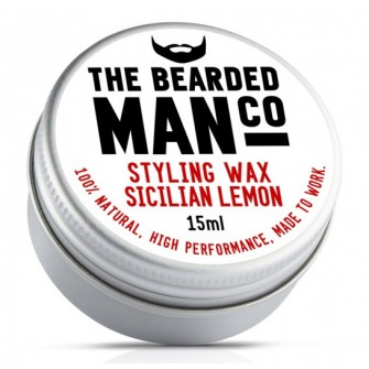 The Bearded Man Company Moustache Wax Sicilian Lemon