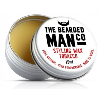 The Bearded Man Company Moustache Wax Tobacco