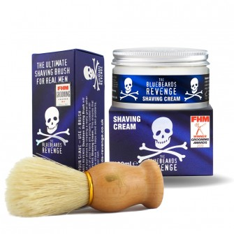 The Bluebeards Revenge Shaving Cream & Brush Kit