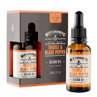 The Scottish Fine Soaps Thistle & Black Pepper Beard Oil