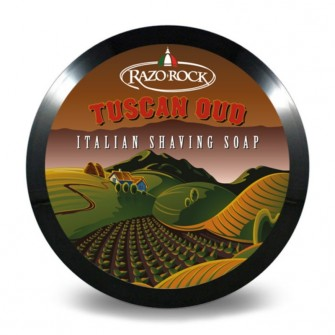 Razorock Tuscan Oud Shaving Soap