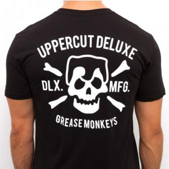 Uppercut Deluxe T-Shirt Grease Monkeys Black/White