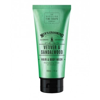 The Scottish Fine Soaps Vetiver & Sandalwood Hair & Body Wash