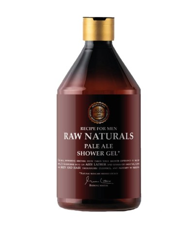 Raw Naturals Pale Ale Shower Gel