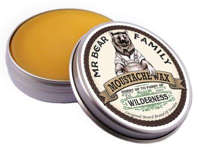 Mr Bear Family Moustache Wax Wilderness