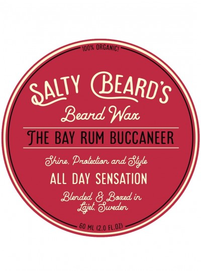 Salty Beards Beard Wax The Bay Rum Buccaneer
