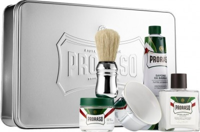 Proraso Classic Shaving Set Metal