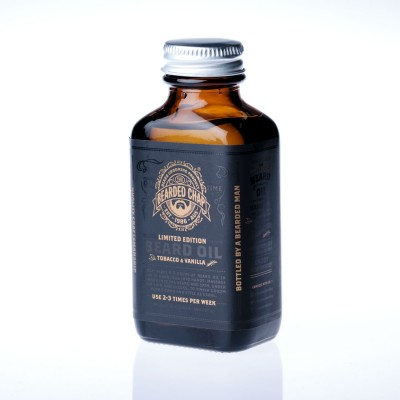 The Bearded Chap Tobacco & Vanilla Beard Oil 90 ml