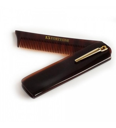 1541 London Folding Pocket Beard Comb