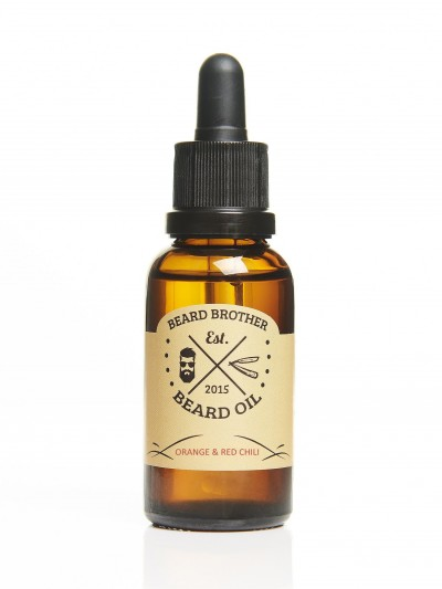 Beard Brother Beard Oil Orange & Red Chili